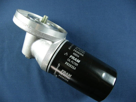 SPIN ON OIL FILTER ADAPTOR TR5/6 (OIL COOLER TYPE)