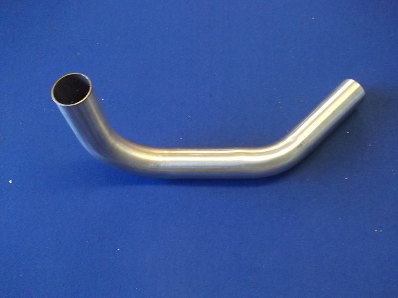 STAINLESS STEEL LOWER RADIATOR PIPE TR5/6