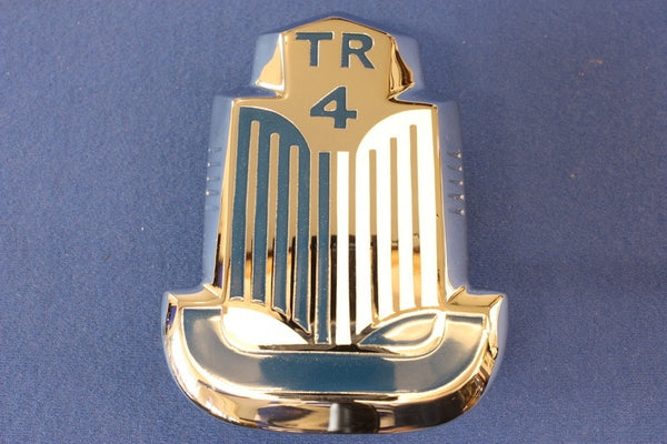 TR4 BONNET BADGE