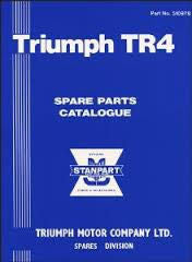 TR4 FACTORY PARTS BOOK