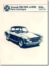 TR6 CR PARTS BOOK