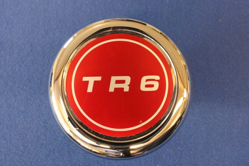TR6 WHEEL BADGE