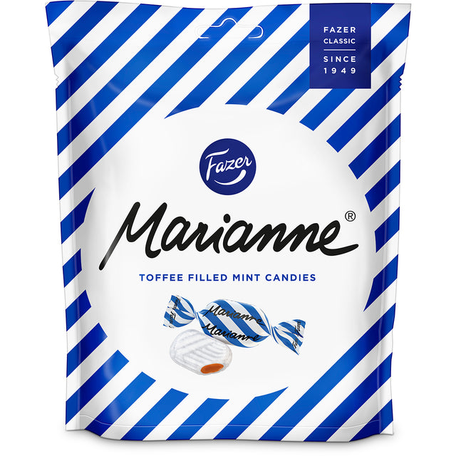 Marianne Toffee 220 g peppermint candies - Fazer Candy Store