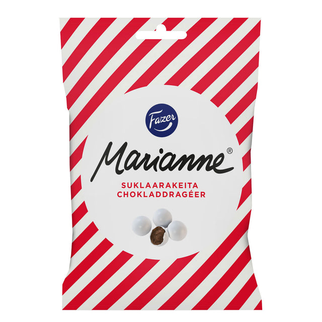 Marianne chocolate dragees 150 g - Fazer Candy Store