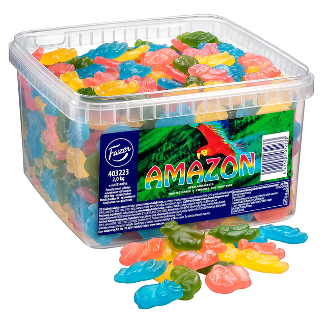 Amazon Fruit Assorted Sweets 2 kg - Fazer Candy Store
