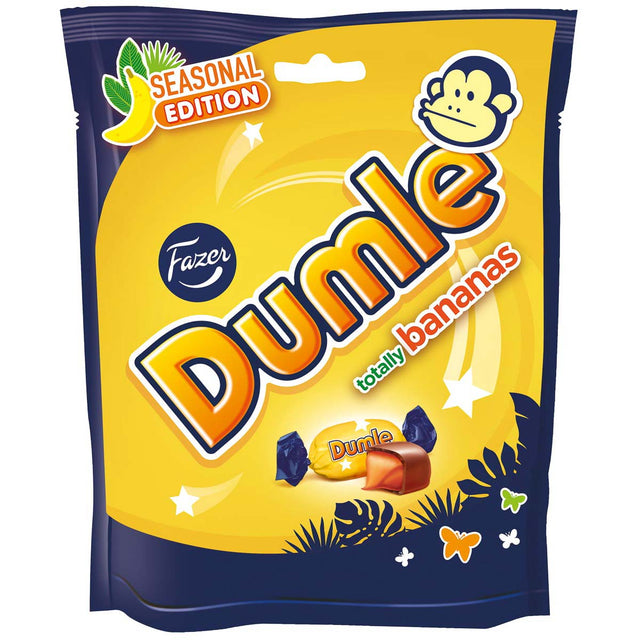 Dumle Seasonal 220 g Banana Summer Edition - Fazer Candy Store