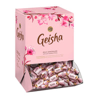 Geisha Milk Chocolate Pralines with Hazelnut Filling 3 kg - Fazer Candy Store