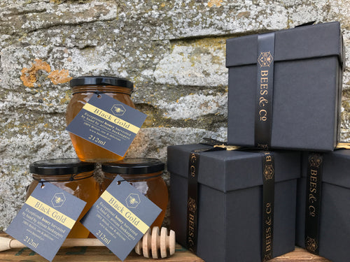 Bees & Co. Honey - Black Gold Exceptional Honey