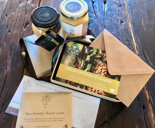 Bees & Co. - Adopt a Beehive Gift Set