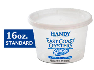 East Coast Fresh Standard Shucked Oysters