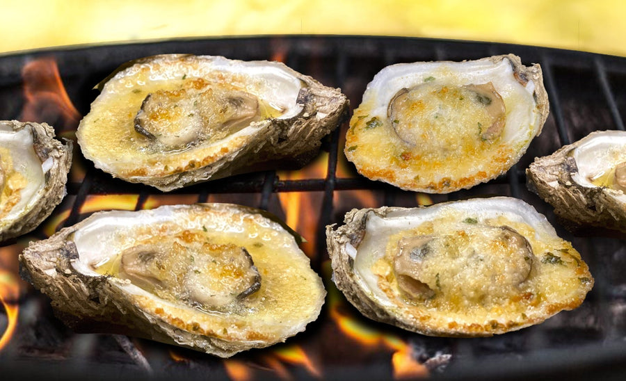 12 Ct. Garlic Butter Oysters