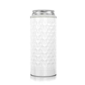 Slim Can Cooler Dimpled Golf®