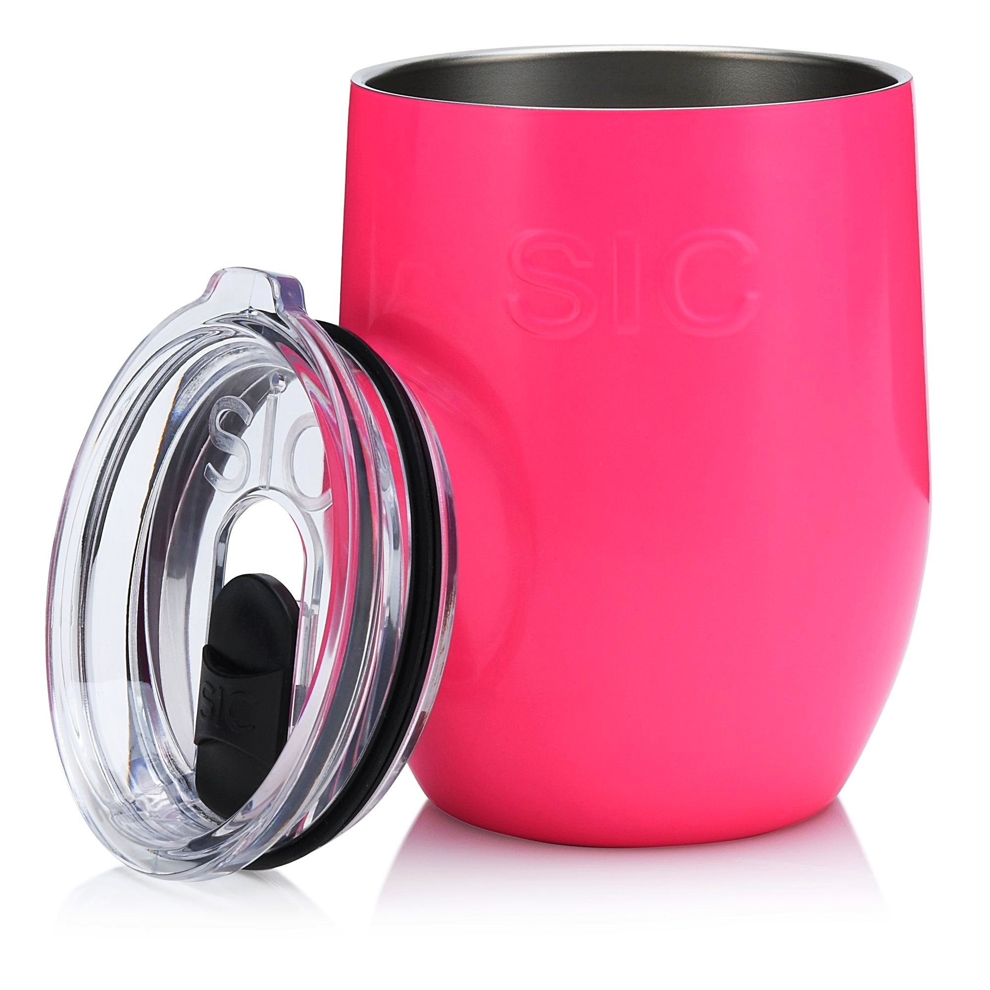 16 Oz. Stemless Hot Pink