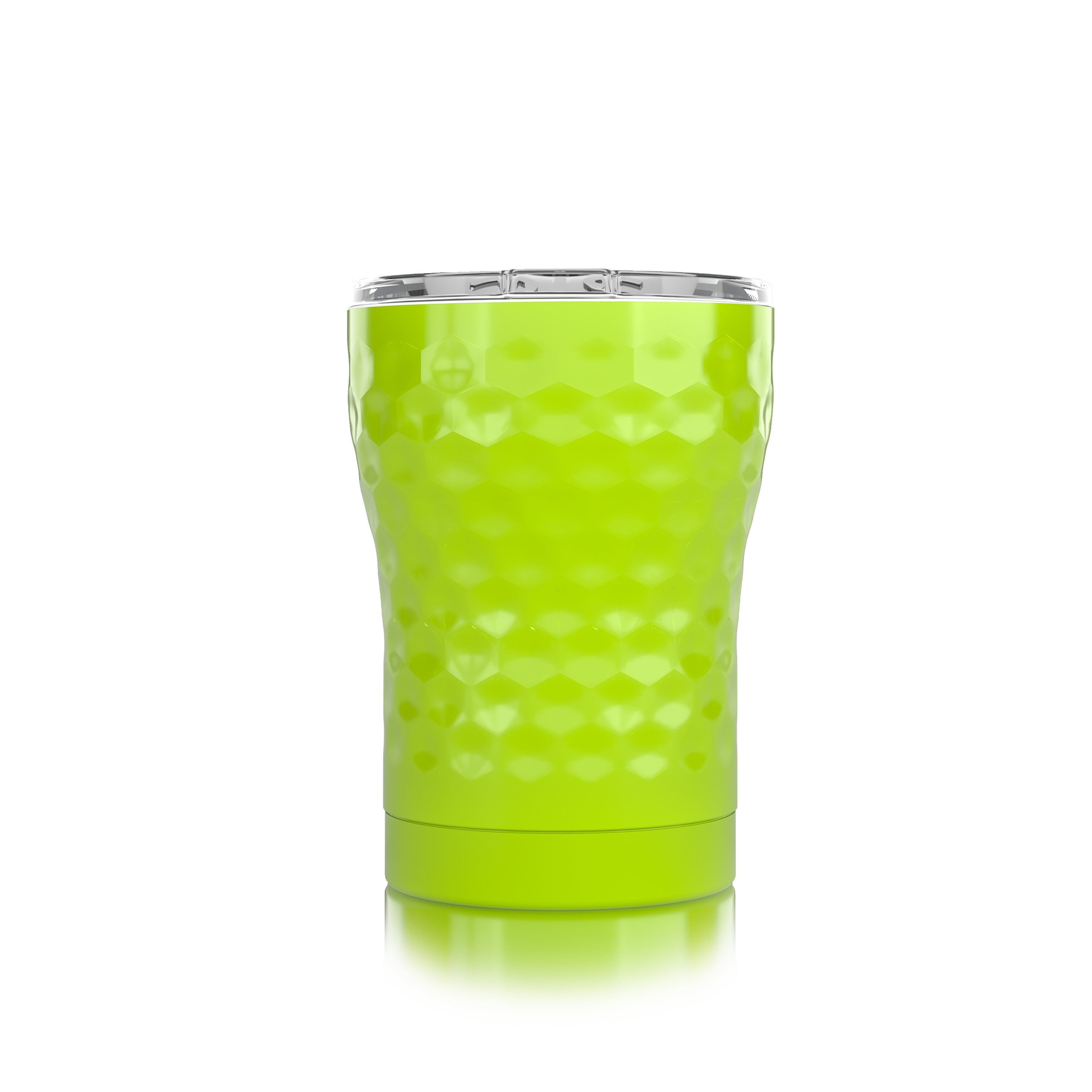 12 oz. Neon Yellow Dimpled Golf®