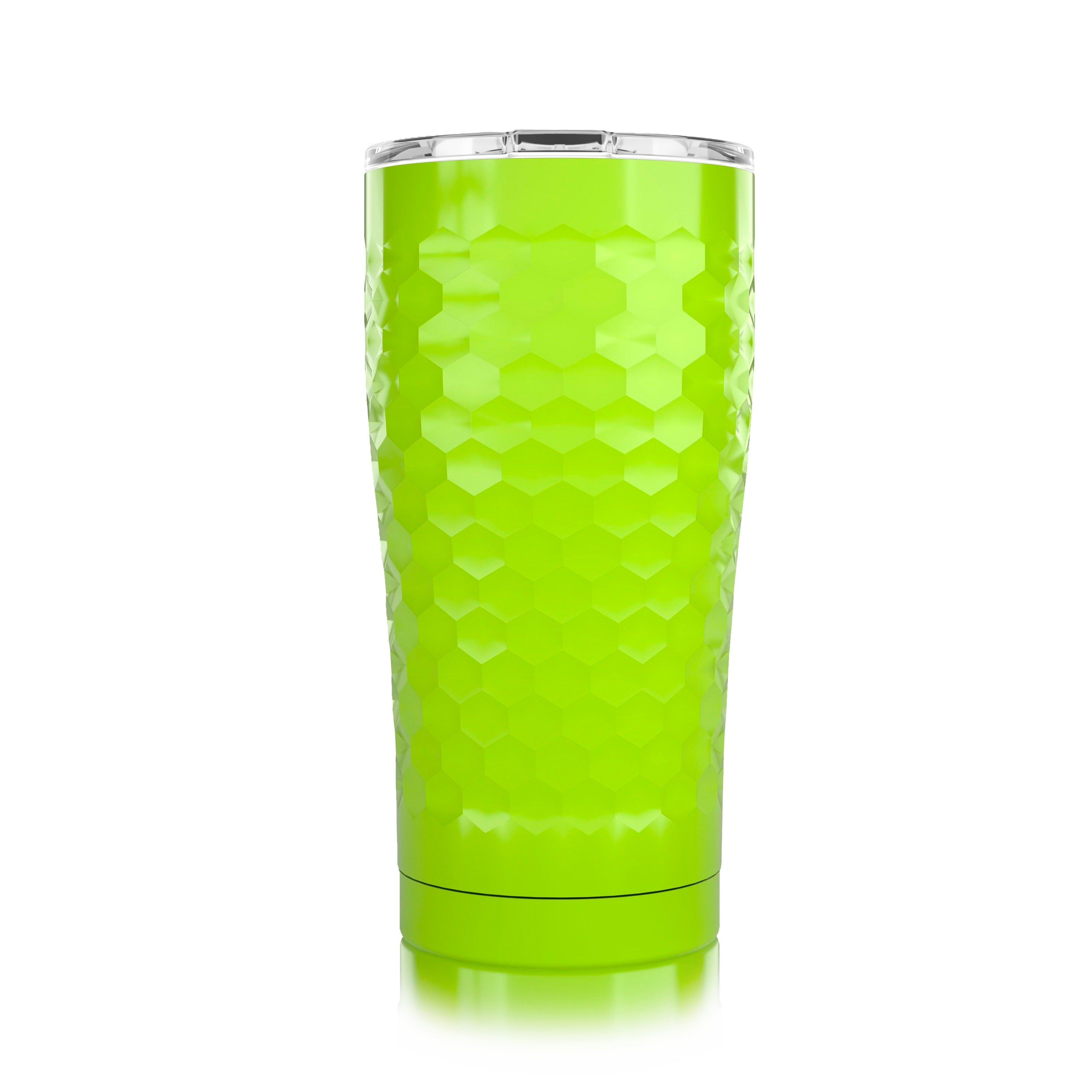 20 oz. Neon Yellow Dimpled Golf®