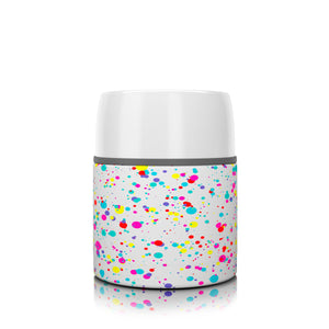 17 oz. Splatter Paint Food Insulator