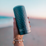 Slim Can Cooler Hammered Gunmetal