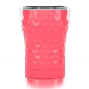 12 oz. Pink Dimpled Golf®
