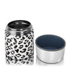 17 oz. Leopard Food Insulator