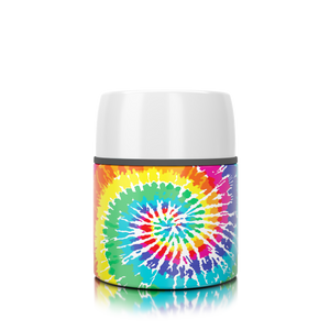 17 oz. Tie Dye Food Insulator