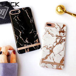 Exquisite Glossy Marble Case
