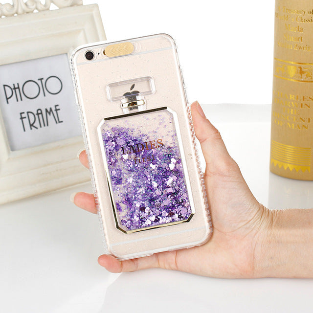 Ladies First | Liquid Glitter Case