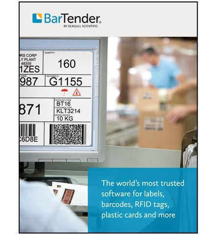 Bartender Automation 2016 Edition - 20 Printers
