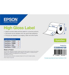 High Gloss Label(76mm x 51mm) For TM-C7500