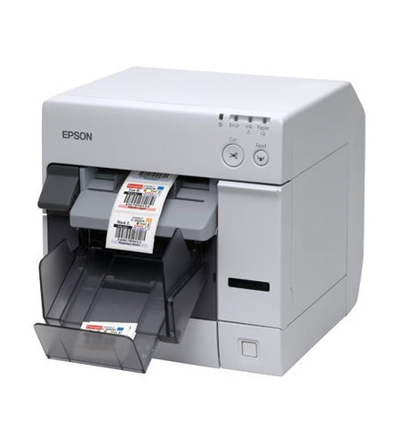 Epson TM-C3400 Colour Label Printer (Ethernet) + Nicelabel Software