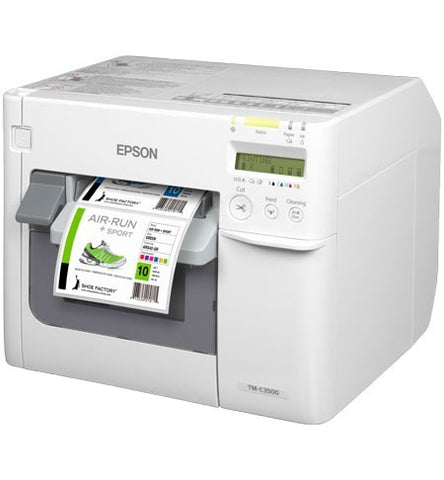 Epson TM-C3500 Colour Label Printer (USB/Ethernet) + Cutter + Nicelabel Software