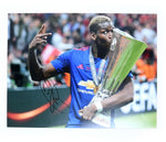 Paul Pogba Manchester United - Europa Cup Print