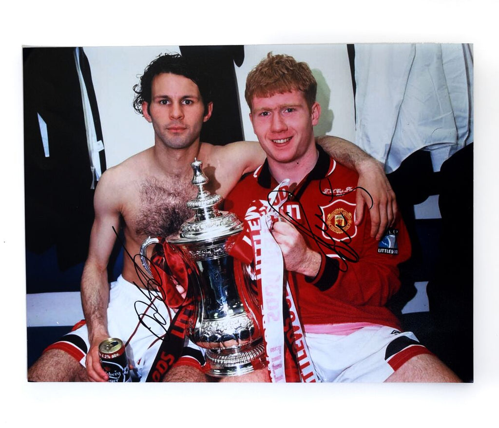 Paul Scholes and Ryan Giggs Class of 92 - Manchester United
