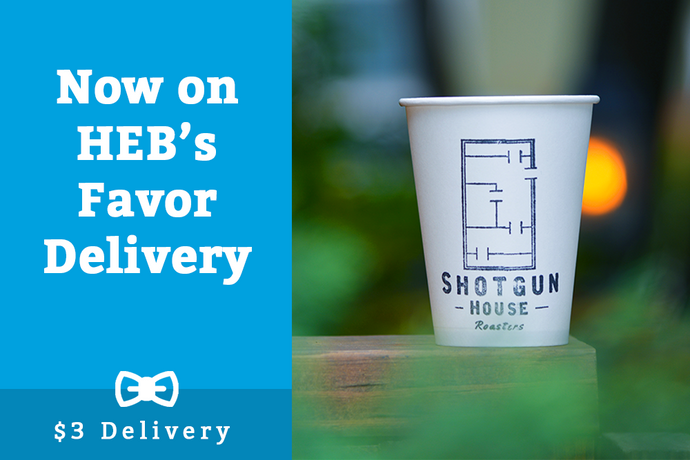 Now available on HEB's Favor Delivery App