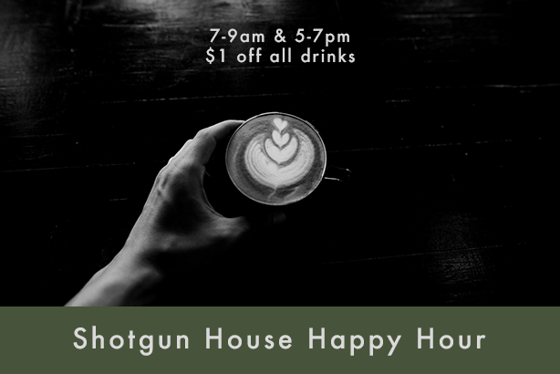 Happy Hour at Shotgun House