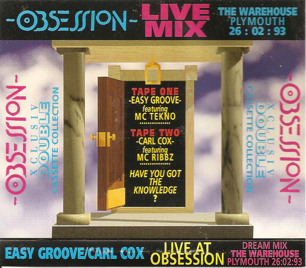 Obsession  (Tape) 26/02/93 Warehouse Plymouth