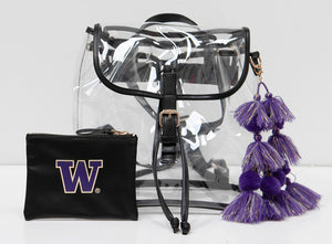Licensed - University of Washington - Huskies Stadium Bags