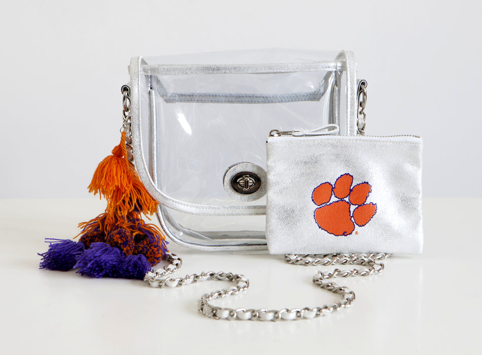 Licensed - Clemson University - Tigers Stadium Bags