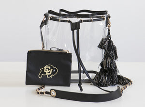 Licensed - University of Colorado Boulder - Buffaloes Stadium Bags