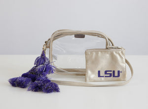 Licensed - Louisiana State University - Tigers Stadium Bags
