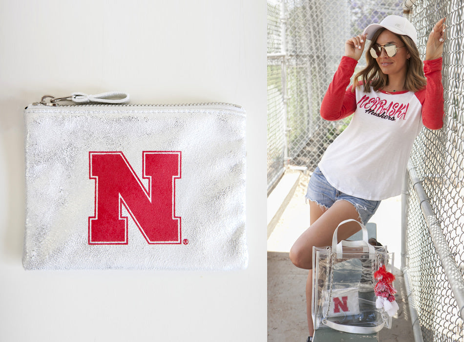 Licensed -  University of Nebraska - Huskers Stadium Bags
