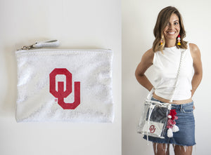 Licensed - University of Oklahoma - Sooners Stadium Bags