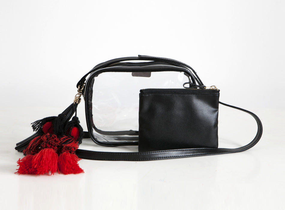 Poppy Tassel Bag
