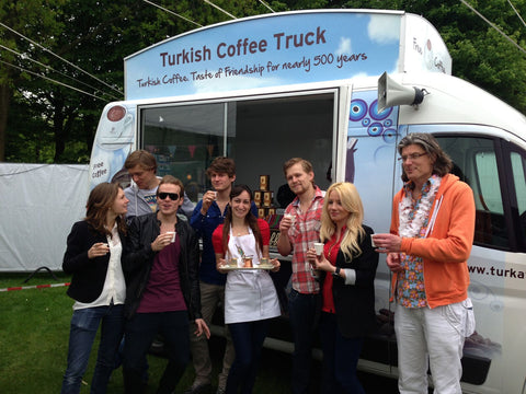 Turkish Coffee Truck Event