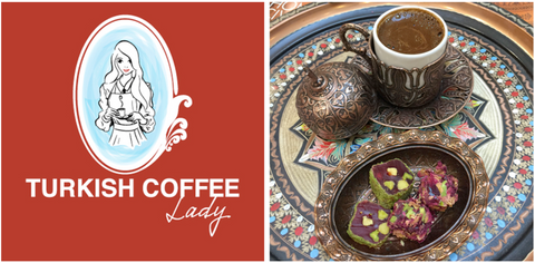 Turkish Coffee Lady - National Coffee Day