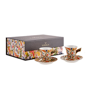 Karaca Angelwings - Coffee set for 2