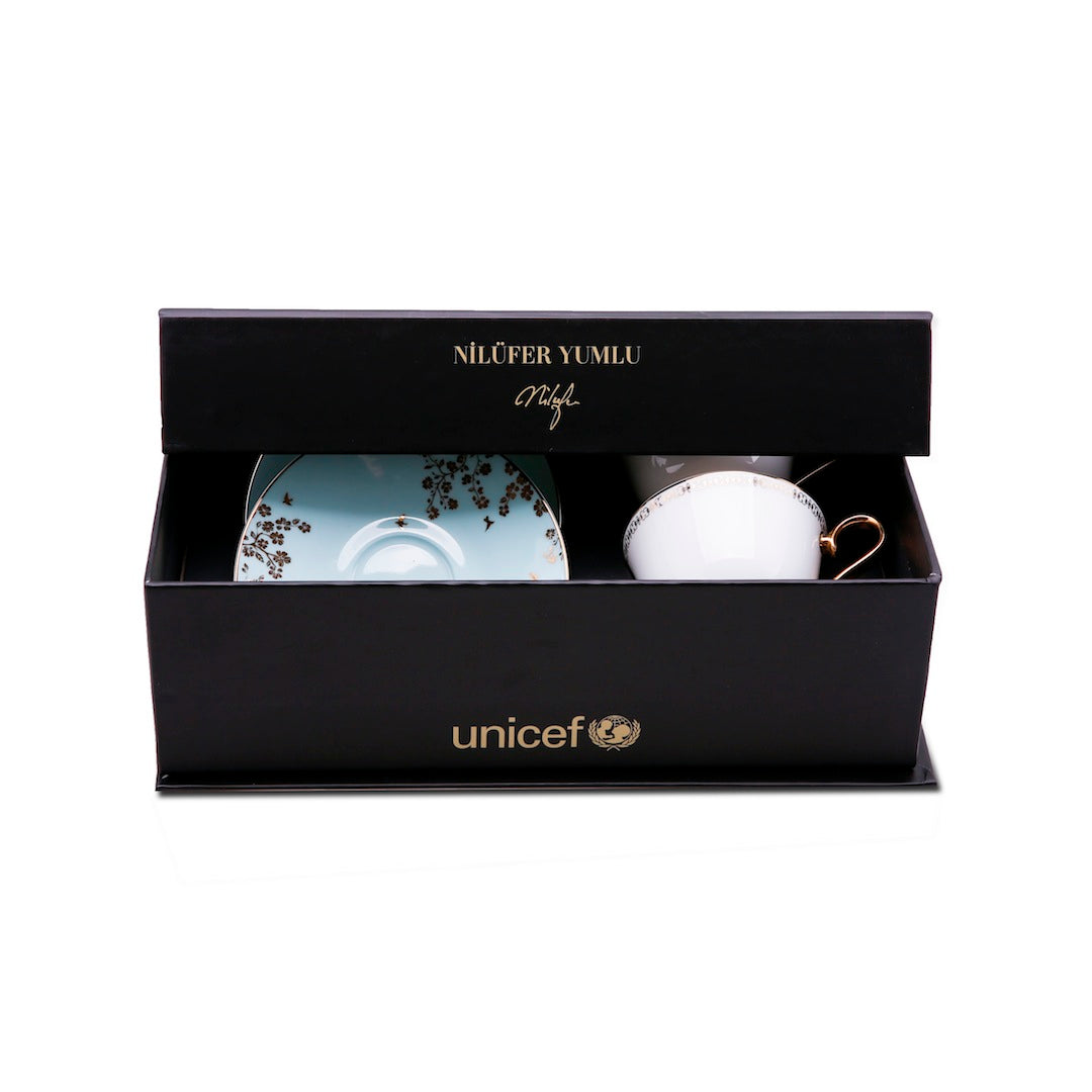 Valentine's Special Karaca Unicef Collection (Coffee Set for 2) - Designed by Nilufer