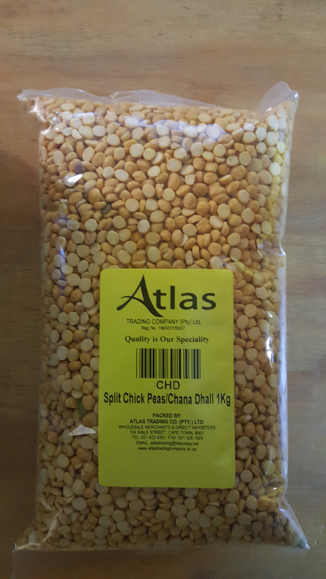 Chana Dhal/Split Chick Peas