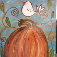 Workshop:  Painting Harvest Bird