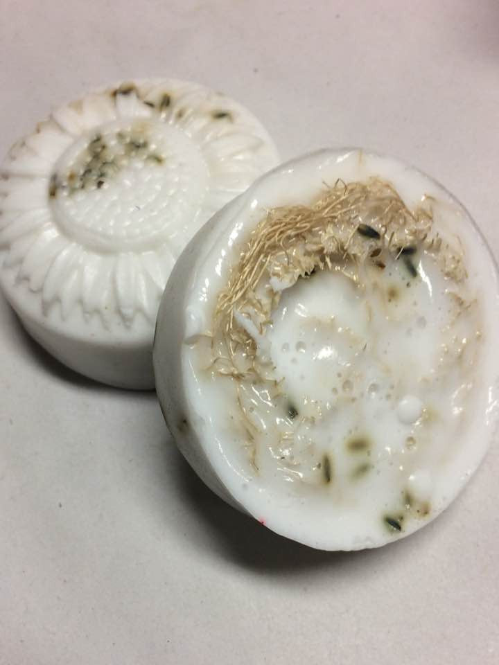 Loofa and Lavender Goat Milk Soap