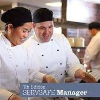 (F) SERVSAFE® Food Manager  8 hr. In Class Certification +  ONLINE Proctored